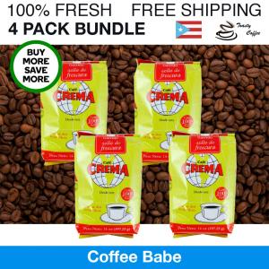 14oz Café Crema 4-Pack Bundle