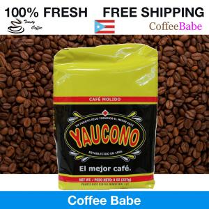 8oz CAFE YAUCONO FROM PUERTO RICO